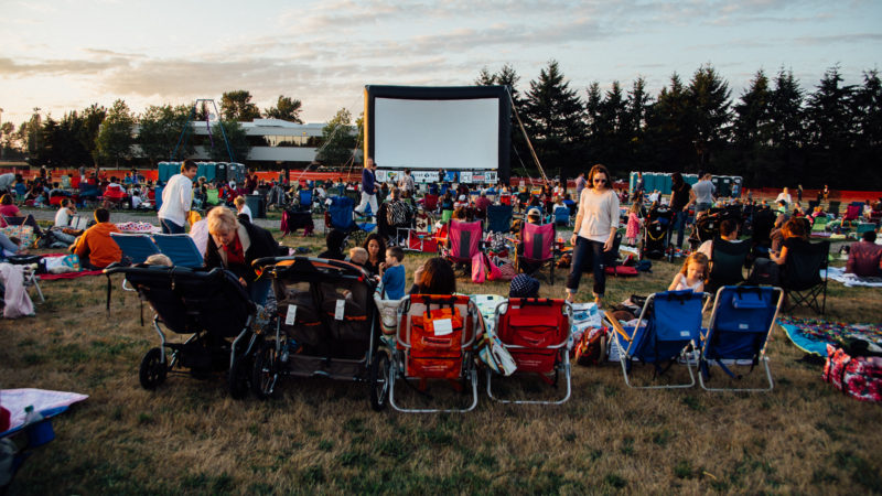 Join us this Summer at Outdoor Movies