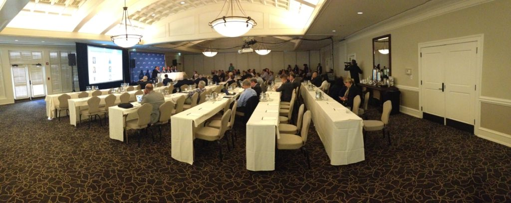 complete conference AV, mobile future forward at newcastle golf club seattle