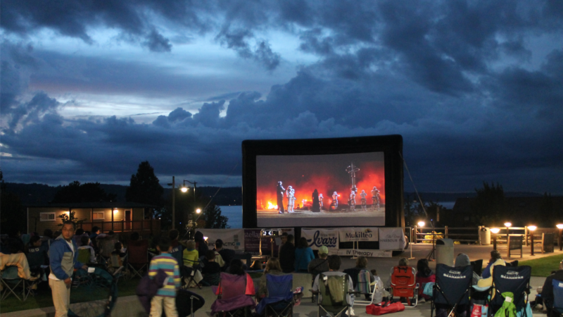 Summer Outdoor Movies with Epic Events